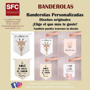 Banderolas Personalizadas Santander