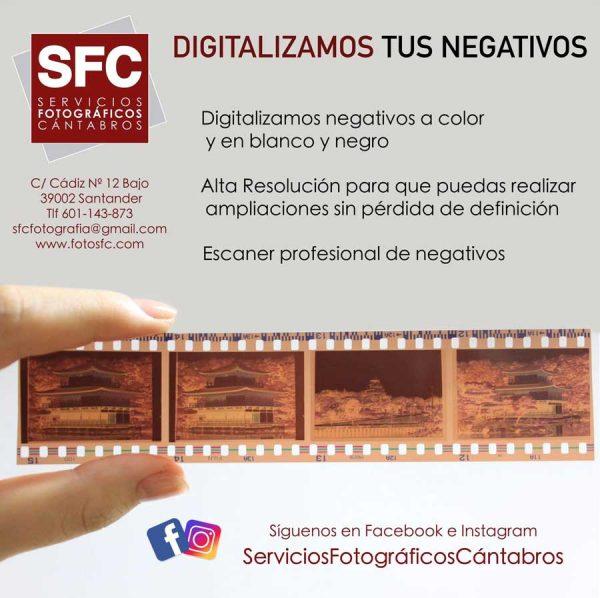 Digitalizamos Negativos