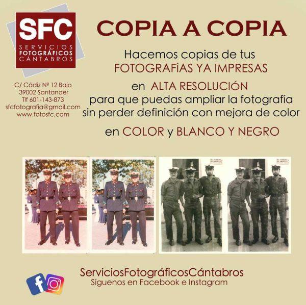 Copia de fotos impresas Santander